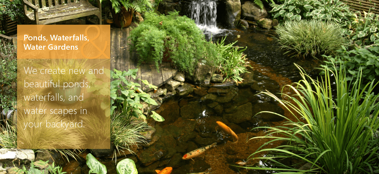 Pond, Waterfall, & Waterscape Services in Wading River, NY